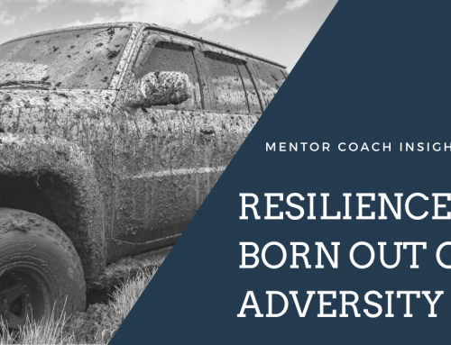 Resilience is Born out of Adversity
