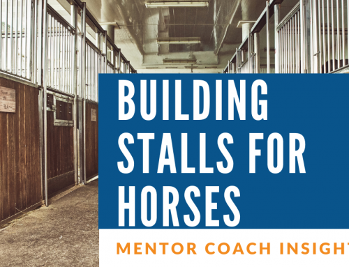Are You Building Stalls for Chariots?