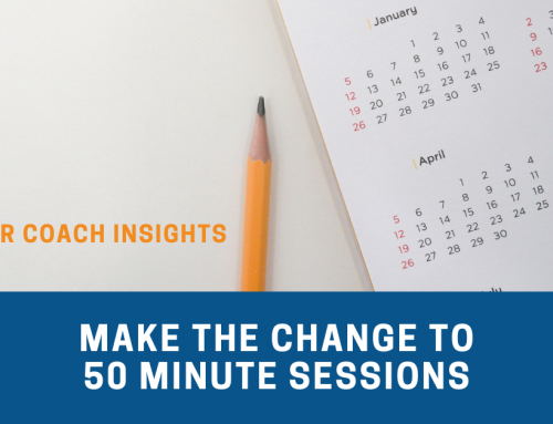 Make the Change to 50-Minute Client Sessions