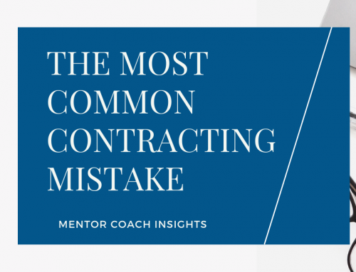 The Most Common Contracting Mistake