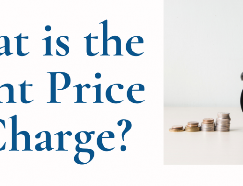 What is the Right Price to Charge?