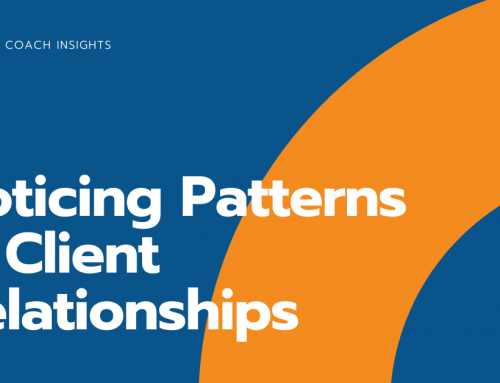Noticing Patterns in Client Relationships