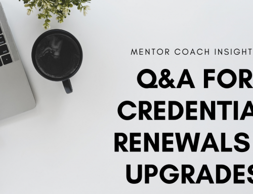 Q&A for Credential Renewals & Upgrades